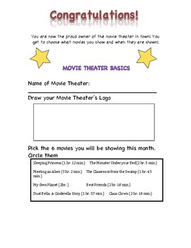 Movie Theater: Elapsed Time
