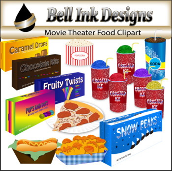 Movie Theater Food Clipart