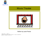 Movie Theater - Interactive Book [speech therapy and autism]