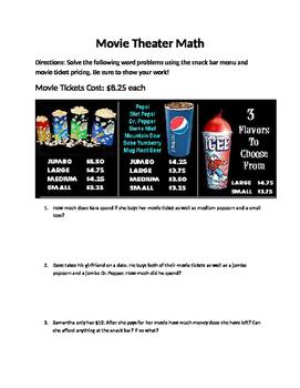 Movie Theater Math