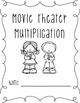 Movie Theater Multiplication, Extension/Practice Activity for Grades 4 & 5