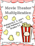 Movie Theater Multiplication, Extension/Practice Activity