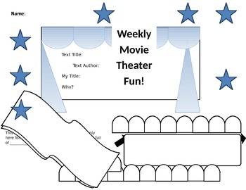 Movie Theater Reading Comprehension Recorder
