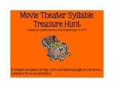 Movie Theater Syllable Treasure Hunt