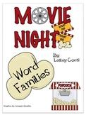 Movie Theatre Word Families