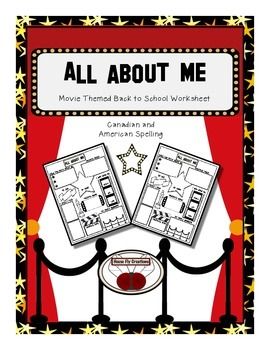First Day of School - Movie Theme All About Me