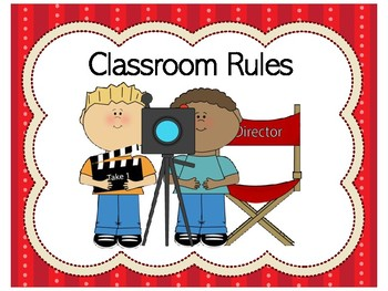 Movie Theme Classroom | Movie Theme Class Rules | Movie Theme Classroom Rules
