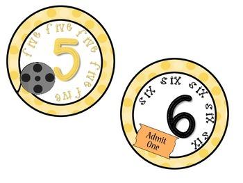 Classroom Numbers 1-10 Movie Theme