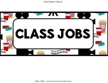 Movie Classroom Decor: Movie Theme Classrrom
