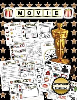 Movie Themed Activity Set