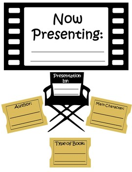 Movie Themed Book Report Pack