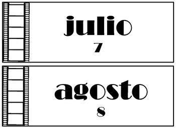 Movie Themed Calendar Pieces
