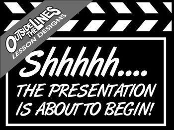 Movie Theme Classroom Graphics