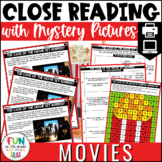 Close Reading Comprehension Passages: Movie Themed | ELA T