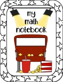 Movie Themed Math Notebook Cover