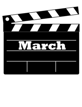 Movie Themed Months