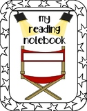Movie Themed Reading Notebook Cover
