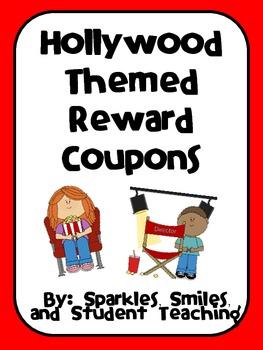 Movie Themed Reward Coupons