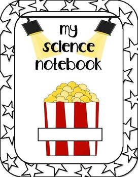 Movie Themed Science Notebook Cover