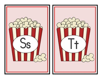 Movie Theme Word Wall Headers