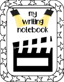 Movie Themed Writing Notebook Cover