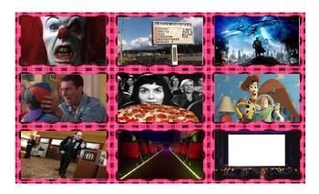 Movie Things & Genres Cards