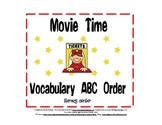ABC Order {Movie Time}