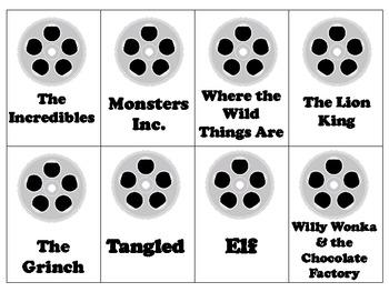 Movie Time Vocabulary
