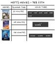 Movie Timetable Activity