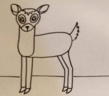 Movie Tutorial for Drawing Bambi
