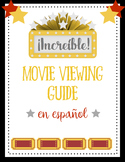 Movie Viewing Guide in Spanish