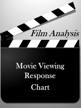 Movie Analysis Chart: Graphic Organizer for Reading & Writing about Film