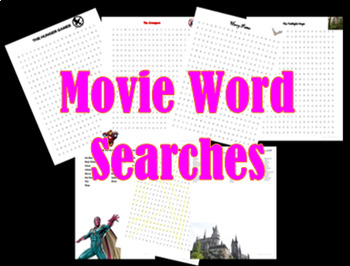 Movie Word Searches