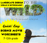 Movie Worksheet: Dare to Be Wild