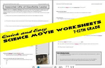 Movie Worksheet: The Immortal Life of Henrietta Lacks