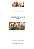 "Movie Worksheet ""Airplane mode"" 2020"
