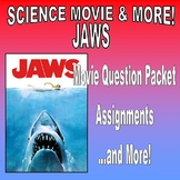 Movie and More : JAWS (question pack / food webs / articles / graph / no prep)