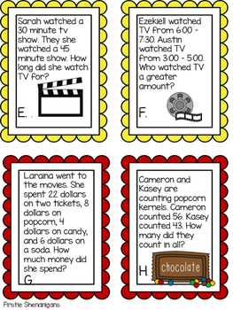 Movie and Popcorn Theme Day - End of the Year Celebration