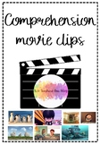 Movie clip comprehension- 8 packs included