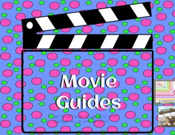 Movie follow along sheets for music class. Substitute plans.
