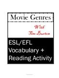 Movie genres with Tim Burton