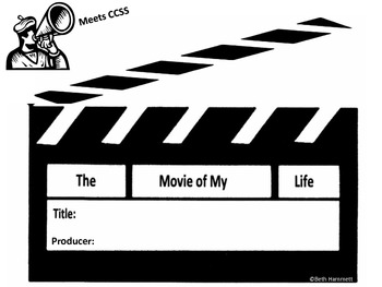 Movie of My Life: A Writing Introduction to the 5 Elements of Stories