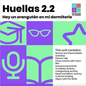 Movie or Picture Talk Unit: Hay un orangután en mi habitación