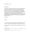 Movie permission slip- template