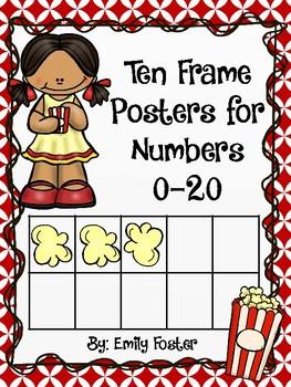 Movie theme ten and twenty frame posters