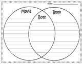 Movie vs. Book Venn Diagram