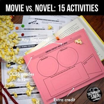 Movie vs. Book Comparison: 15 Activities for Secondary ELA