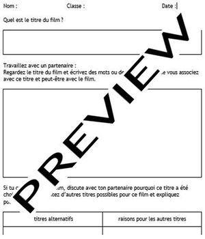 Movie workbooks - English, French or German: generic, self-adapting, versatile