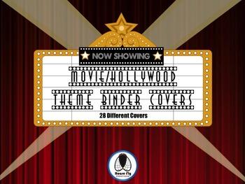 Movie/Hollywood Binder Covers