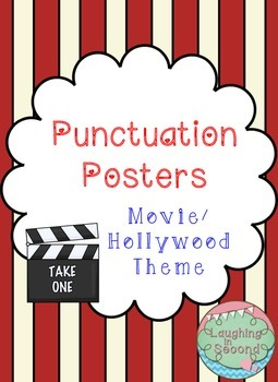 Movie/Hollywood Themed - Punctuation Posters